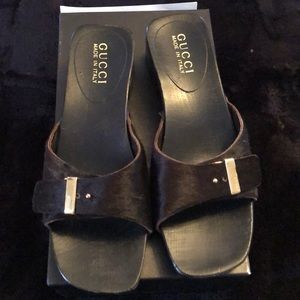 Gucci clog shoes